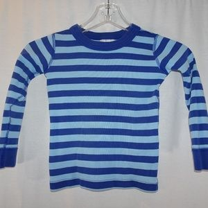 Hanna Andersson blue striped pajama top